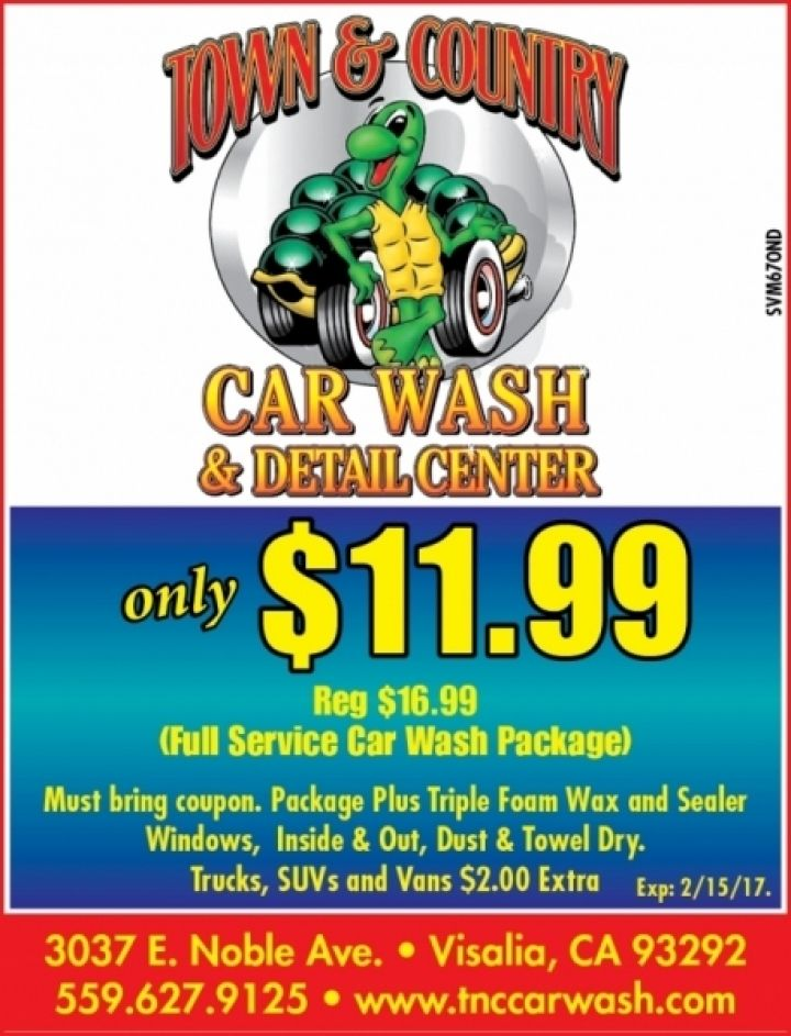 Clean And Green Car Wash Coupon