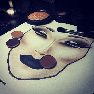 really want some of these face charts The Drugstore Princess