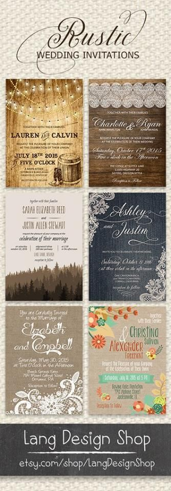 Best 25 western wedding invitations ideas on pinterest camo rustic wedding invitation collection many varieties available for each rustic wedding set http stopboris Images