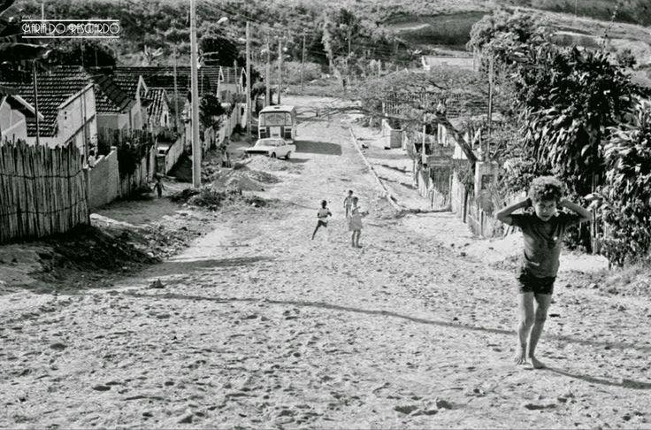 Bairro Joquei Clube, em 1977 (arquivo do Blog Maria do Resguardo).