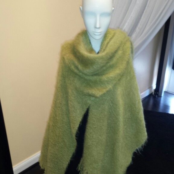 Mohair Shawl lightweight and warm!
