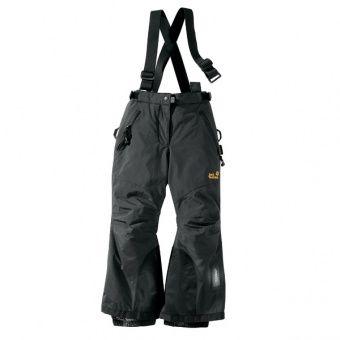 Jack Wolfskin Kids Ski Pants Jack Wolfskin Kids Ski Pants Farbe / color: black ()