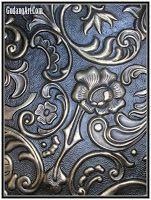 Relief - Panel Relief Batik Tembaga - Kuningan - Gudang Art
