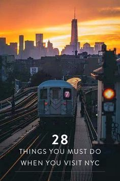 28 Things You Must Do When You Visit NYC