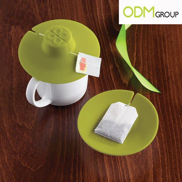 So convenient! Perfect for any tea lovers, yes? Goes from holding the bag in your cup to holding it on the counter for your second cup