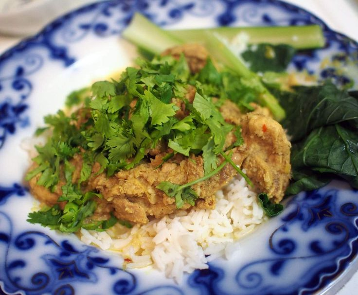 Recipe Chicken Curry Kapitan (Rick Stein) by Fergie - Recipe of category Main dishes - meat