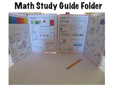 Math study guide or reference folder for 5th grade Teaching with heart matters