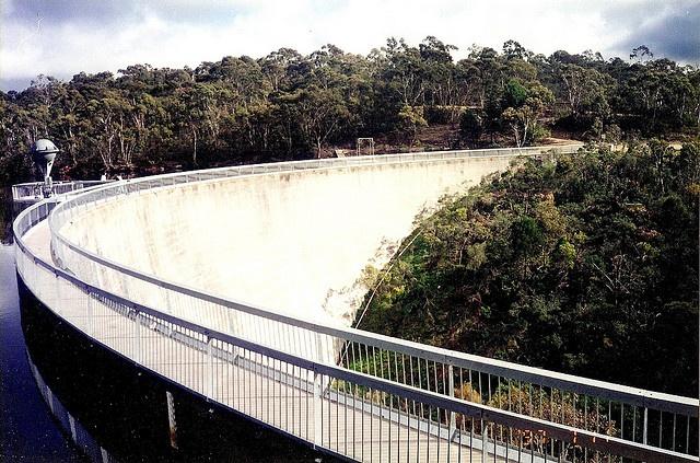 Whispering Wall, Barossa Dam, South Australia
