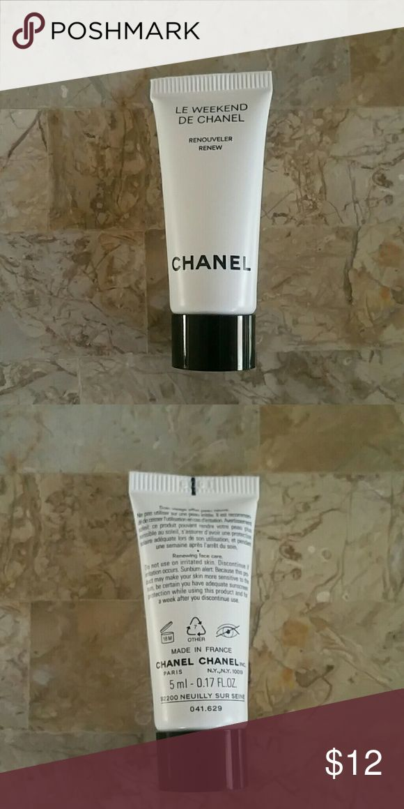 Authentic Chanel Le Weekend DE Chanel NWOT Brand new.  Sample size.  Perfect for travel. CHANEL Makeup