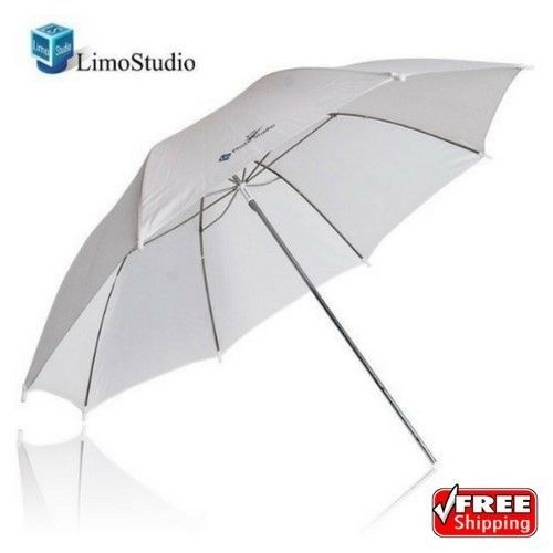 (1) x Photo Studio White Premium Umbrella Reflectormade of high quality nylon construction. Works well to diffuse the light from any flash/strobe light and constant light. The white produces neutral color temperature and the reflector is lightweight and easy to set up. | eBay!