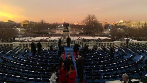 Inauguration day Washington DC