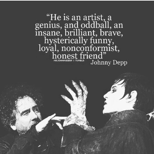 about Tim Burton