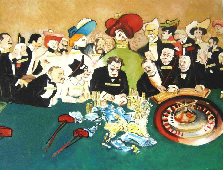 Toulouse Lautrec copy pil on canvas