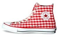 wantity want! - red gingham converse all star