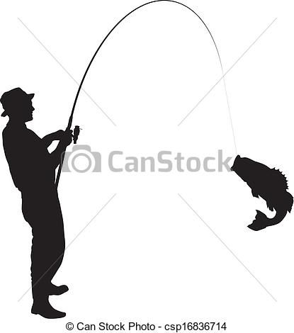 82 Best Silhouettes Fish Fishing Silhouettes Images On
