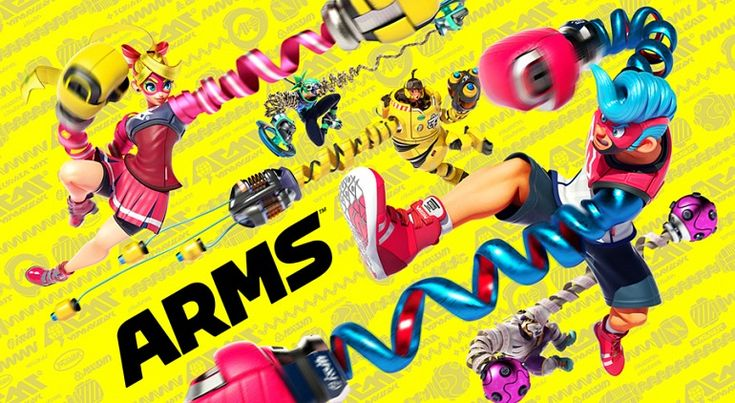 Top Japan: weapons orders on a podium supported by Switch games 3DS ARMS Nintendo Switch PS3 PS4 Vita Wii U Xbox One