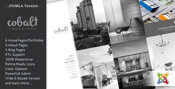 Cobalt - Responsive Multipurpose Joomla Theme - joomla Template - Marlenmorlock