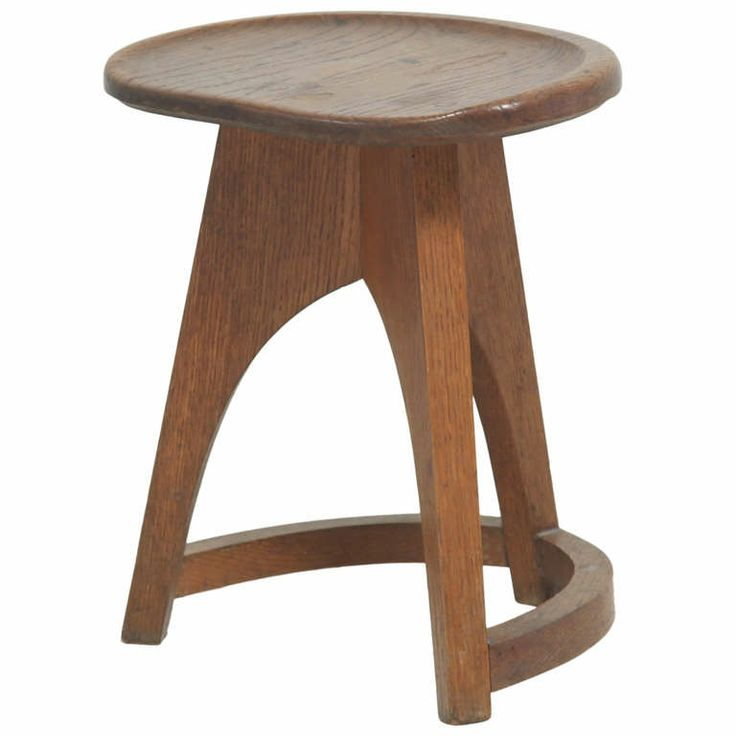 Beautiful French Stool In Old Oak My Cabin In The Woods