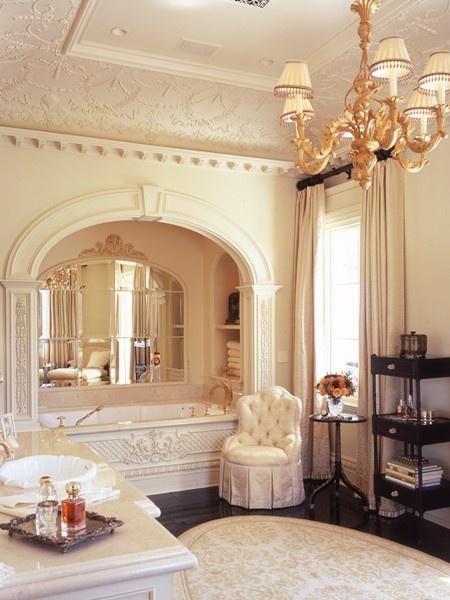 Parisian-Inspired Bathroom | House & Home