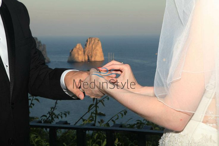 Italian #destination #wedding by Med in Style
