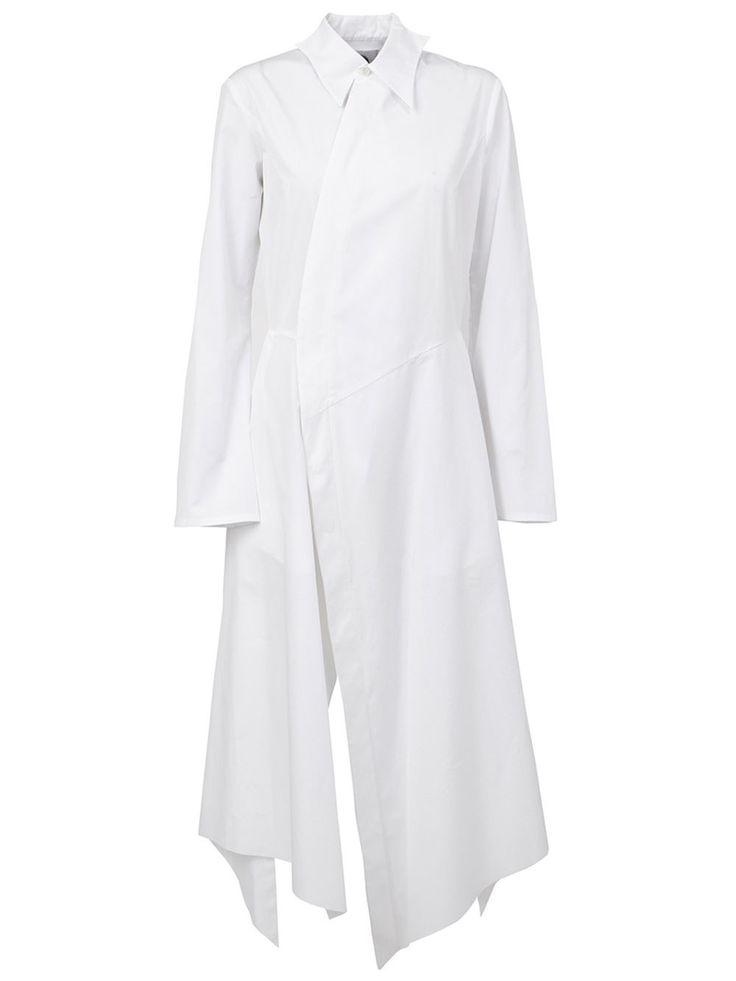 Aganovich платье-рубашка асимметричного кроя