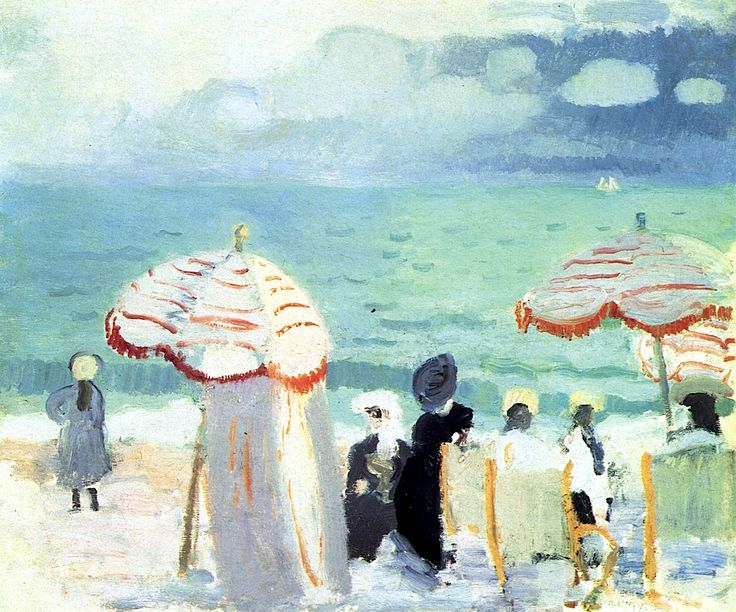 Parasols Raoul Dufy - 1906  one of my very favorite artists!