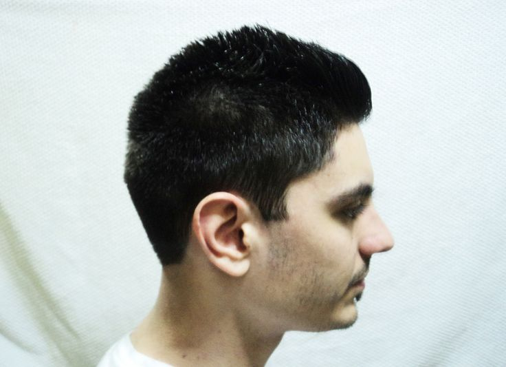 After the cut - Right side. Modelo: Matias.