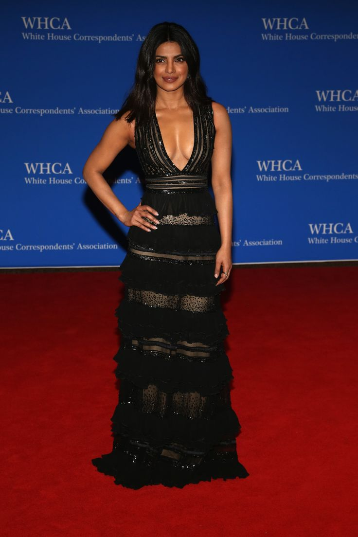 What the stars wore to the 102nd (and Obama's last) WHCD | Priyanka Chopra