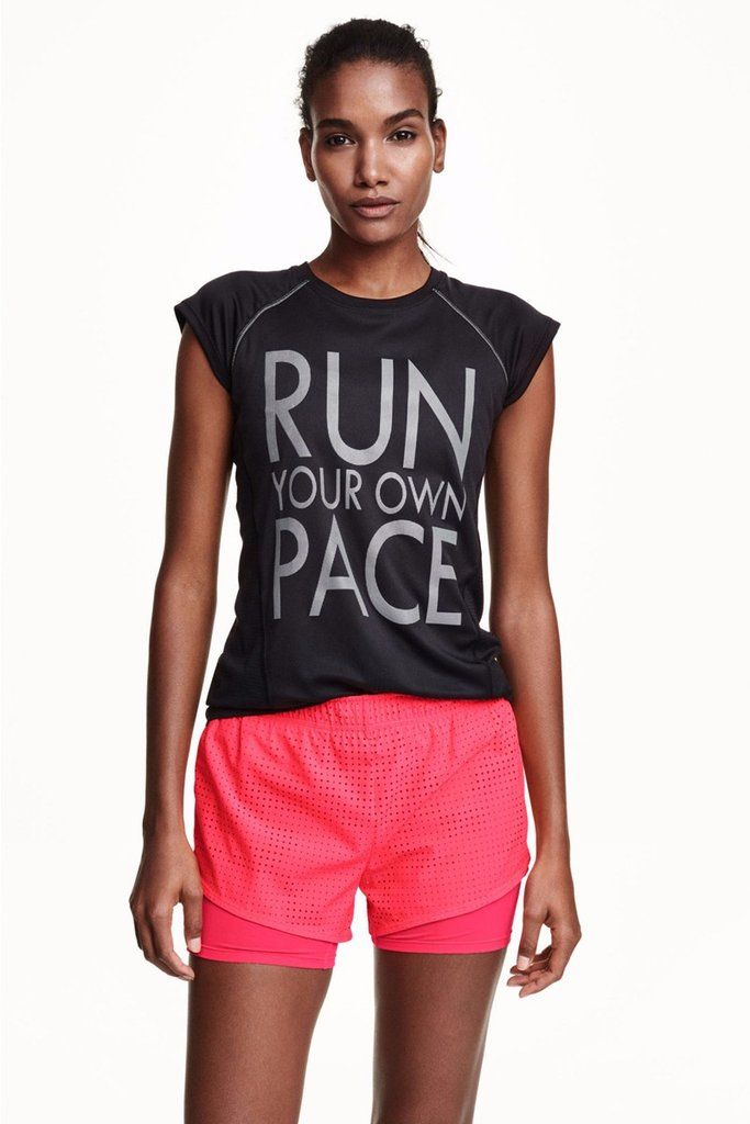 Running/ Reflective Fitness Top