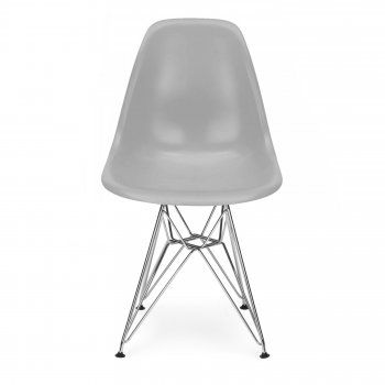 Eames Style Cool Grey DSR Eiffel Chair - Eames from Cult Furniture UK