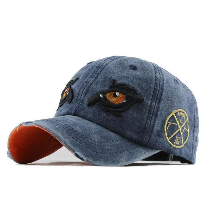 Baezshop Store Leather Baseball Cap Snapback Hats Wash Baseball Cap