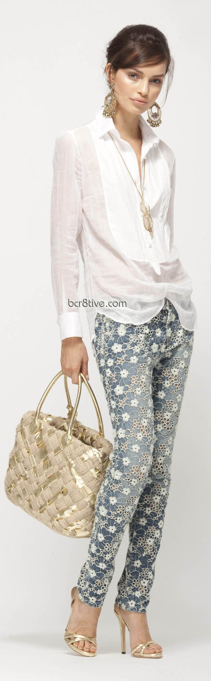 Ermanno Scervino Pre Collection 2013 - Love these jeans & are available to buy too.