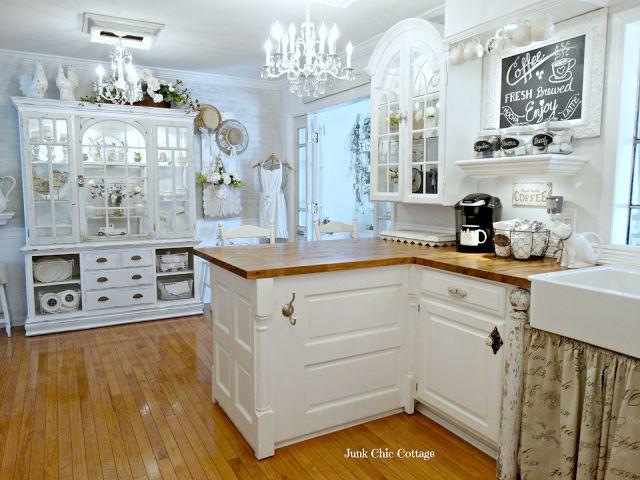 Junk Chic Cottage: Side Road Cabinet Re Loved ~yep, my next kitchen