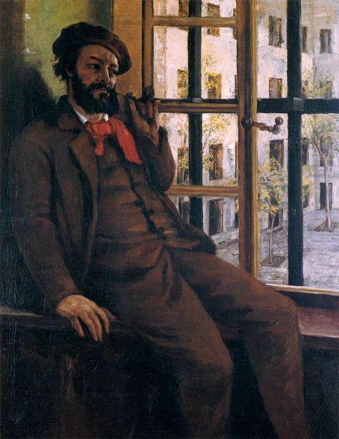Αυτοπροσωπογραφία στη φυλακή Sainte Pelagie (1872)