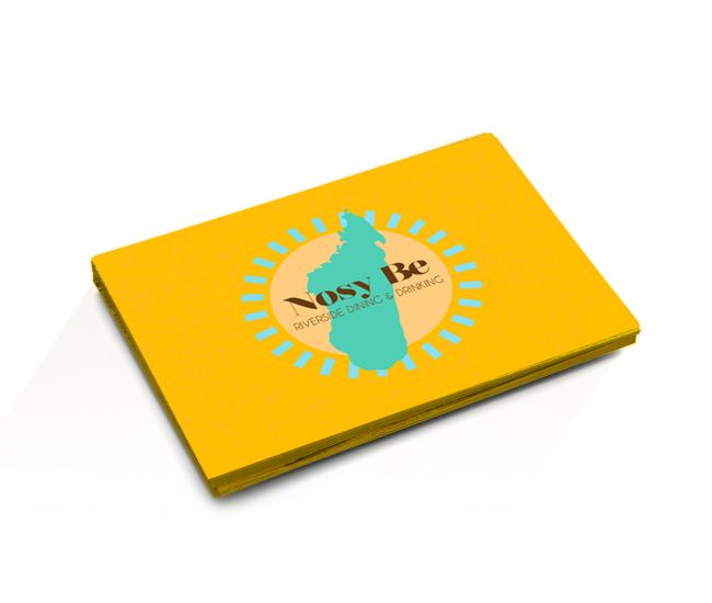 Nosy Be business cards
