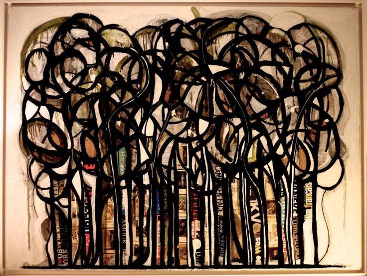 "Saatchi Art Artist THIBAUD Modely; Painting, ""La forêt"" #art"