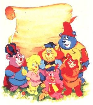 The Gummi Bears :) used to watch this when i was a kid