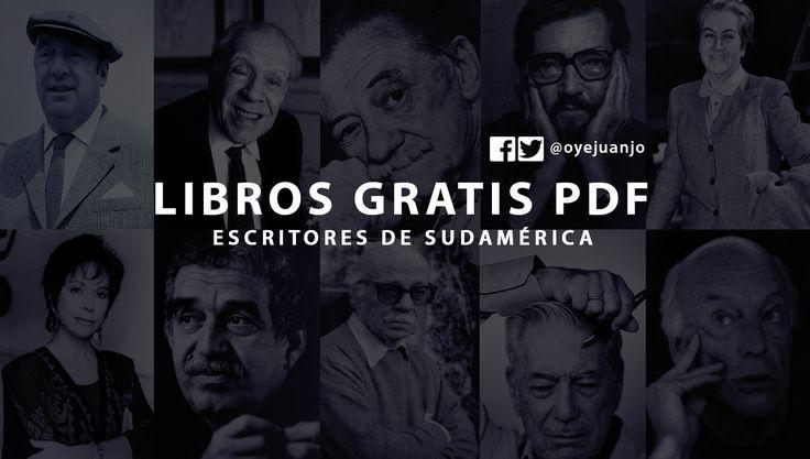 Cortázar, Benedetti, Borges, Neruda, Galeano, Vargas Llosa, Allende y muchos autores más en esta colección de libros PDF de escritores sudamericanos.