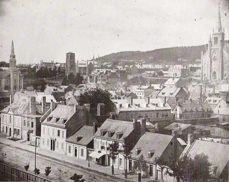 Montreal in 1852