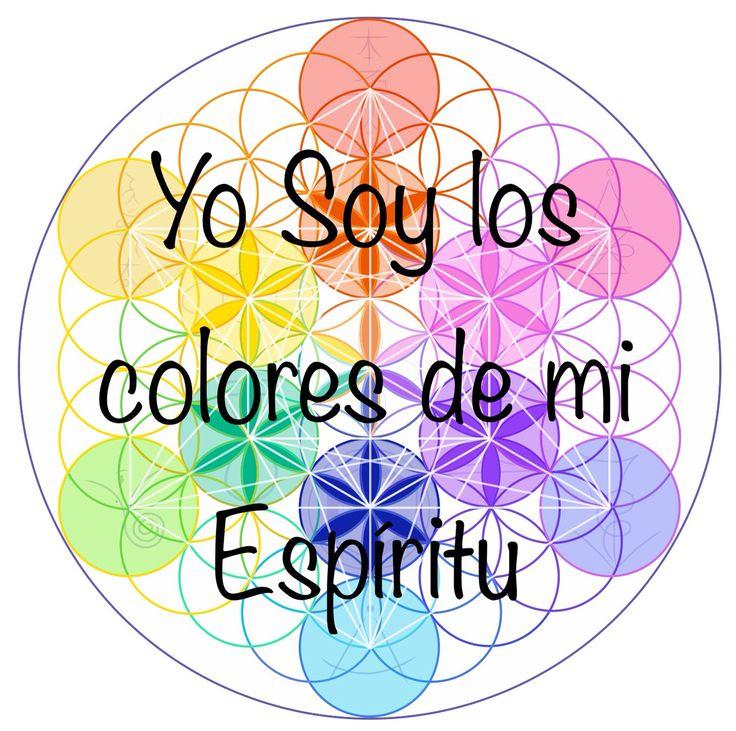 Afirmación Expansión Divina | I am the colors of my Spirit | Afirmación Yo Soy