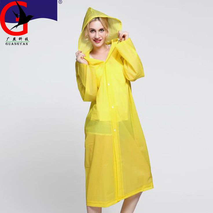 2017 Solid color thickening lovely Adult Waterproof Raincoat Hood Poncho Raincoat Korean Japanese fashion woman Raincoat