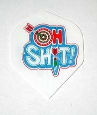 5 Sets - OH SHIT - Hard Poly flights by US Darts. $3.29. Classic Standard Shape flights are an inexpensive way for you to experiment with different flight shapes and styles. The standard shape flight carries more air as it flies towards the board which improves the stability of the dart.. Save 67% Off!