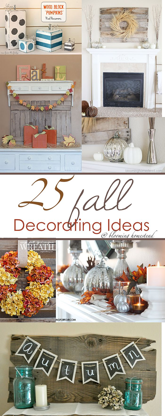Fall Decorating Ideas #fall #falldecor #pumpkins