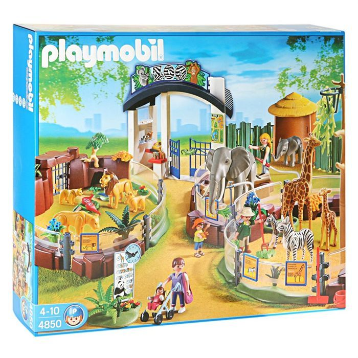 playmobil 4850 grand zoo miniature playmobil and zoos. Black Bedroom Furniture Sets. Home Design Ideas