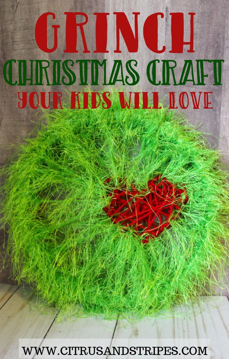 Grinch Christmas Craft Kids Will Love Mom Blogs To Follow