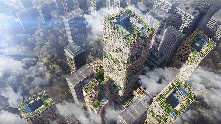 The world's tallest timber tower will be the tallest building of any kind in Japan
