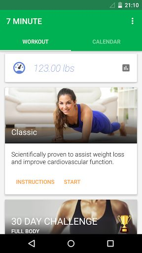 7 Minute Workout v1.356.101 [Pro]   7 Minute Workout v1.356.101 [Pro]Requirements:4.0Overview:Featured by Google Play! No. 1 in over 19 countries and among the top 5 health apps in over 57.  Now supports Google Fit and comes with the new abs workout.  Over 3 million users love 7 minute workout. Scientifically proven to assist weight loss and improve cardiovascular function.  If you want to lose weight get a flat tummy & strengthen your abdominal muscles try 7 Minute Workout and get a six…