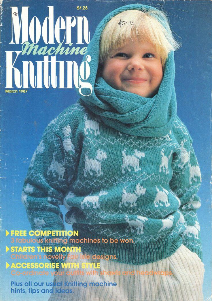 Modern Machine Knitting Magazine 1987.03 Free PDF Download 300dpi ClearScan OCR