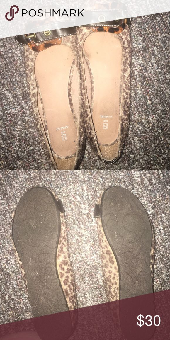 Cheetah Shoes. These have been worn. Shoes Flats & Loafers