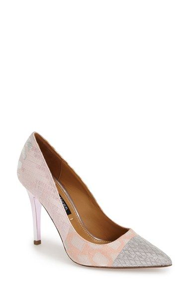 Kay Unger 'Ainsly' Pointy Toe Pump (Women) available at #Nordstrom